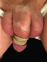 Perverted panty thief dominated, humiliated, cock teased and left covered in his own filth!